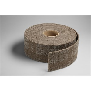 "Picture of 48011-05207 3M-Brite Cut and Polish Roll,4""x 30ft A MED"