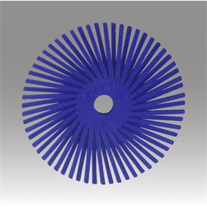 "Picture of 48011-30122 3M-Brite Radial Bristle Disc Thin Bristle,2""x 3/8""400"