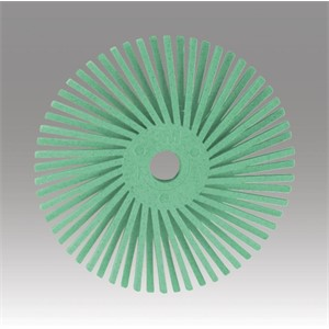 "Picture of 48011-27618 3M-Brite Radial Bristle Disc,9/16""x 1/16""Polish 1"