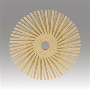 "Picture of 48011-30001 3M-Brite Radial Bristle Disc Thin Bristle,3/4""x 1/16""6 Micron"