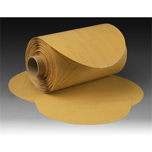 "Picture of 51111-49918 3M Stikit Gold Paper Disc Roll,6""x NH P180 A-weight"