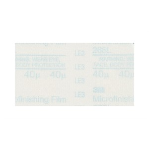 "Picture of 51111-50127 3M Microfinishing PSA Film Type D Sheet 268L,12""x 14"",80 Micron,10"