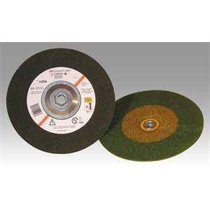 "Picture of 51111-61010 3M Green Corps Depressed Center Wheel,24 4""x 1/4""x 3/8"""
