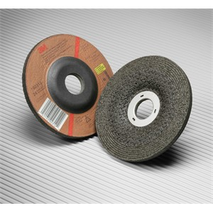 """Picture of 51111-55991 3M Green Corps Depressed Center Wheel,24 4-1/2""""x 1/4""""x 7/8"""""""