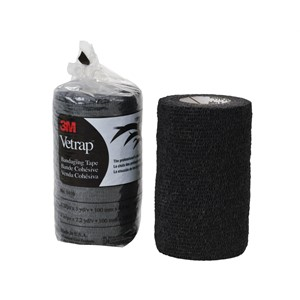 Picture of 51115-04861 3M Vetrap Bandaging Tape Pack,1410BK Black