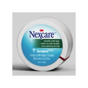 "Picture of 51131-00020 3M Nexcare Durapore Cloth First Aid Tape,538-P1,1""x 10yds,Rolled"