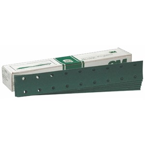 "Picture of 51131-00642 3M Green Corps Hookit Regalite Sheet D/F,00642,2 3/4""x 16"",40E"
