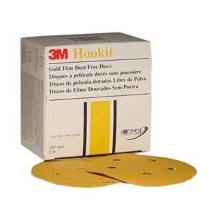 "Picture of 51131-01081 3M Hookit Gold Disc D/F 236U,01081,6"",P120C"