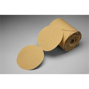 "Picture of 51111-61132 3M Stikit Gold Paper Disc Roll 216U,5""x NH P600 A-weight"