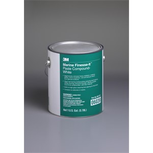 Picture of 51131-06039 3M Finesse-it Marine Paste Compound 06039 White,1 gal