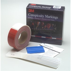 "Picture of 51131-06398 3M Diamond Grade Conspicuity Marking Kit 983 PN 06398,2""x 25yd"