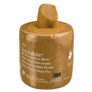 "Picture of 51131-07523 3M-Brite Multi-Flex Abrasive Sheet Roll,8""x 20ft A ULF"