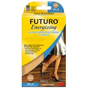 Picture of 51131-20134 3M FUTURO Ultra Sheer Pantyhose Women 71018FCNEN,L Nude F Cut