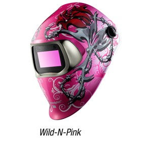 Picture of 51131-37229 3M Speedglas Wild-N-Pink Welding Helmet 100 07-0012-31WP/37229(AAD)