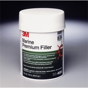 Picture of 51131-46005 3M Marine Premium Filler,46005,1 Quart