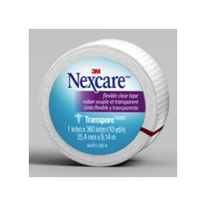 """Picture of 51131-56661 3M Nexcare Flexible Clear First Aid Tape,527-P1,2""""x 10yds,Wrapped"""