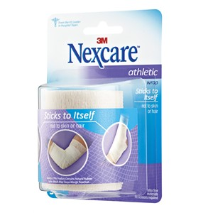 "Picture of 51131-56786 3M Nexcare Athletic Wrap,CR-3W,White,3""x 5yds stretched"