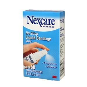 Picture of 51131-86293 3M Nexcare No Sting Liquid Bandage,118-03,Spray .61 fl oz