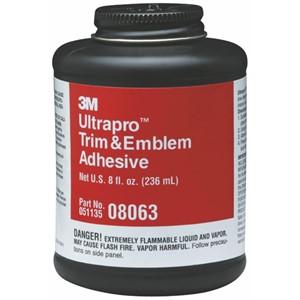 Picture of 51135-08063 3M Ultrapro Trim and Emblem Adhesive,08063,8 fl oz/236 mL