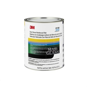 Picture of 51593-01160 3M Short Strand Reinforced Filler,01160,1 Gallon (US) Can