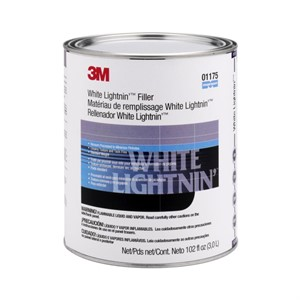 Picture of 51593-01175 3M White Lightnin' Heavyweight Body Filler,01175,1 Gallon (US)