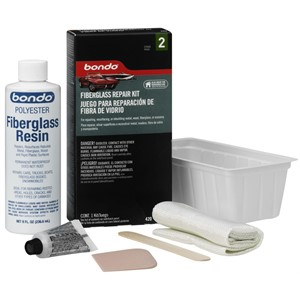 Picture of 76308-00420 3M Bondo Fiberglass Resin Repair Kit,420,1/2 Pint