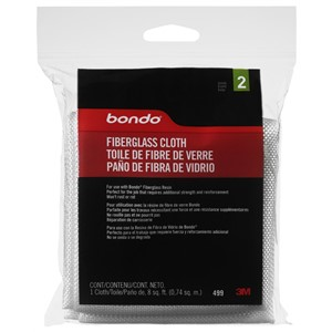 Picture of 76308-00499 3M Bondo Fiberglass Cloth,499,8 sq.ft.