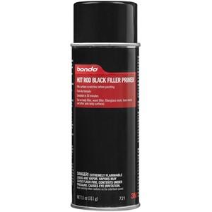 Picture of 76308-00721 3M Bondo Hot Rod Black Filler Primer,00721,11 oz