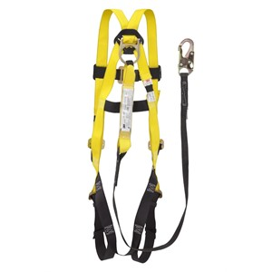 Picture of 78371-00153 3M-SafeLight Fall Protection Harness/Lanyard Combo,10910/209512,universal Sz