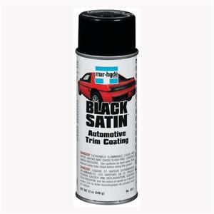 Picture of 83463-38111 3M Mar-Hyde Black Satin Automotive Trim Coating-aerosol,3811,12 oz