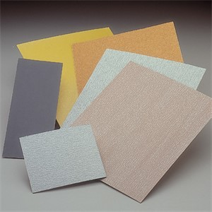 "Picture of 076607-01295 Norton FULL SHEETS Aluminum Oxide T280 Waterproof Paper,9""x11"",320C Grit"