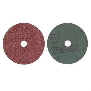 "Picture of 076607-04703 Norton FIBER DISCS Aluminum Oxide Fiber (Metalite F226),7""x7/8"",24 Grit"