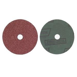 "Picture of 076607-04706 Norton FIBER DISCS Aluminum Oxide Fiber (Metalite F226),5""x7/8"",24 Grit"