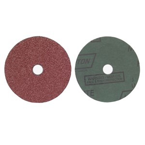 "Picture of 076607-04707 Norton FIBER DISCS Aluminum Oxide Fiber (Metalite F226),5""x7/8"",36 Grit"