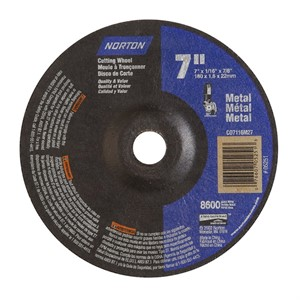 Picture of 076607-05251 Norton,Right Angle Cut-Off Wheel Type 27 Metal-Aluminum Oxide