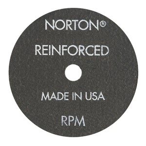 Picture of 076607-89451 Norton Cut Off Wheels,Sm DIA Cut-off Blades,Part# Type 1