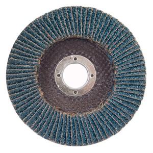 "Picture of 088341-94834 Norton Merit Flap Disc,High density,4-1/2""x7/8"" Arbor,24 Grit"