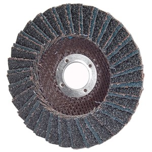 "Picture of 662544-72653 Norton Merit Flap Disc,Regular,4-1/2""x7/8"" Arbor,36 Grit"