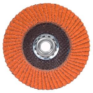 Picture of 662611-00008 Norton SG Blaze Flap Discs,4-1/2x5/8-11,Type/27,Max RPM/13300,80 Grit