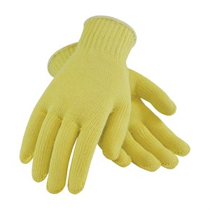 Picture of 07-K300/L PIP Kut-Guard Kevlar Cut Resistant Glove,13 G,L,Yellow