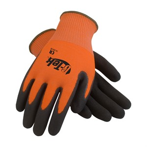 Picture of 16-340OR/L PIP G-Tek Cr,HPPE/Glass 13 Gauge Hi-Vis Orange Seamless Knit Liner,L