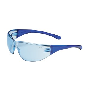Picture of 250-29-0103 PIP Directflex Eyewear,Light Blue Poly Lens,Blue Temples,CSA