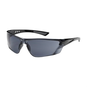 Picture of 250-32-0021 PIP Recon Eyewear,Gray Poly Lens,Gloss Black Temples W/ Non-Slip Pads,9