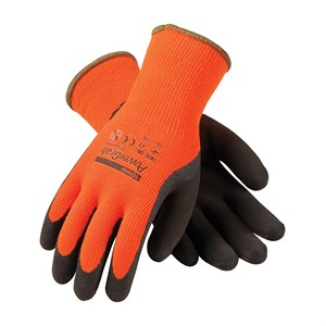 Picture of 41-1400/L PIP Gloves,Powergrab Thermo,Hi-Vis Orange,L