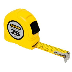 Picture of 30-454 Stanley Tape Measure,TAPE RULE FRACTIONAL READ