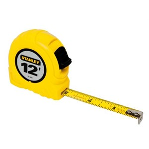 "Picture of 30-485 Stanley Tape Measure,1/2""X12'TAPE RULE"