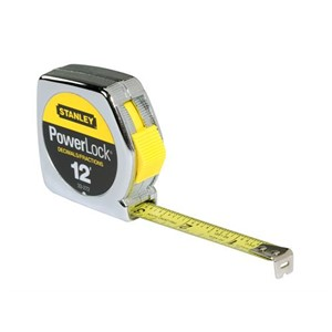 Picture of 33-272 Stanley Tape Measure,DECIMAL/FRACTION 1/2 X