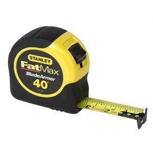 """Picture of 33-740 Stanley FatMax Tape Rule W/Bladearmor coated,1-1/4""""x40'"""