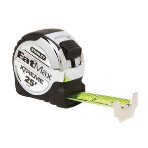 "Picture of 33-890 Stanley Fatmax Tape Measure,Bladearmor coated,Top Forward,1-1/4"" blade width,L 25'"