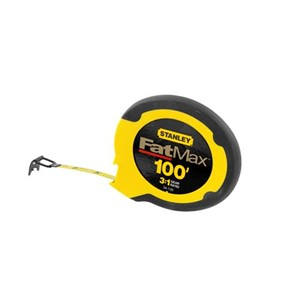 "Picture of 34-130 Stanley Tape Measure,100'x3/8"" Blade,Stainless Steel"